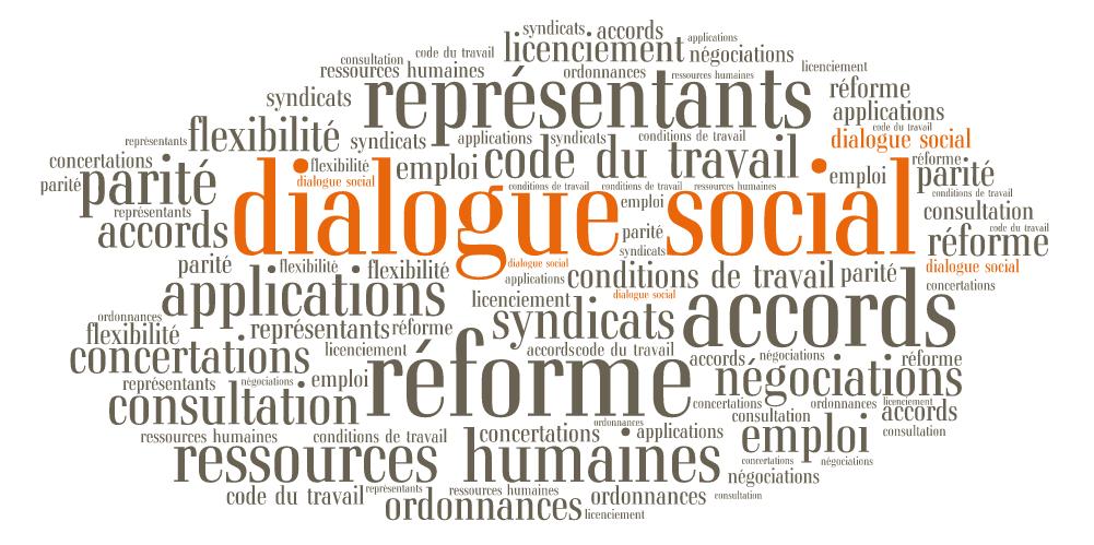 Et si on s'intéressait auDialogue social plutôt qu'à l'application de la Réforme du travail ?